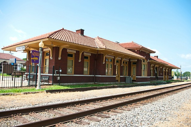 Morrilton, AR train station