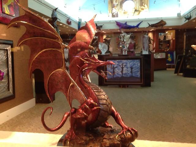 Dolphin Hotel Art gallery