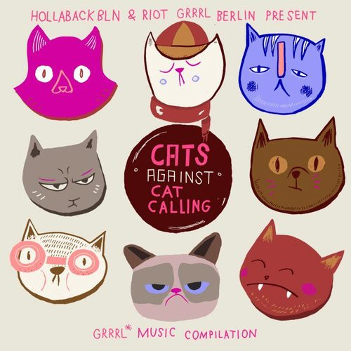 Cats against Catcalling logo