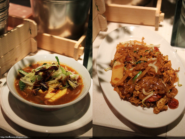 Spice Brasserie - Assam Laksa and Char Kway Teow