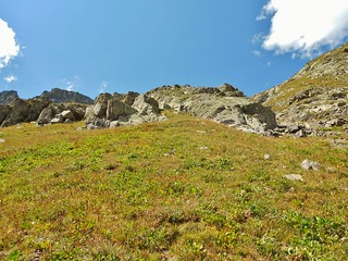 Grassy Slopes on the Way to American Northwest Ridge