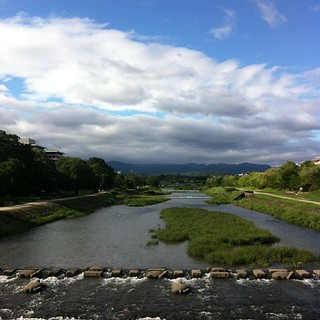今日の鴨川(パクり) #kyokamo #sky #イマソラ