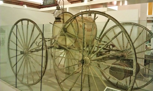 Hose wagon from late 1800s