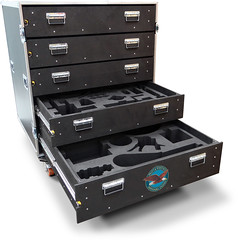 Flight Cases with CNC Routed Foam Inserts