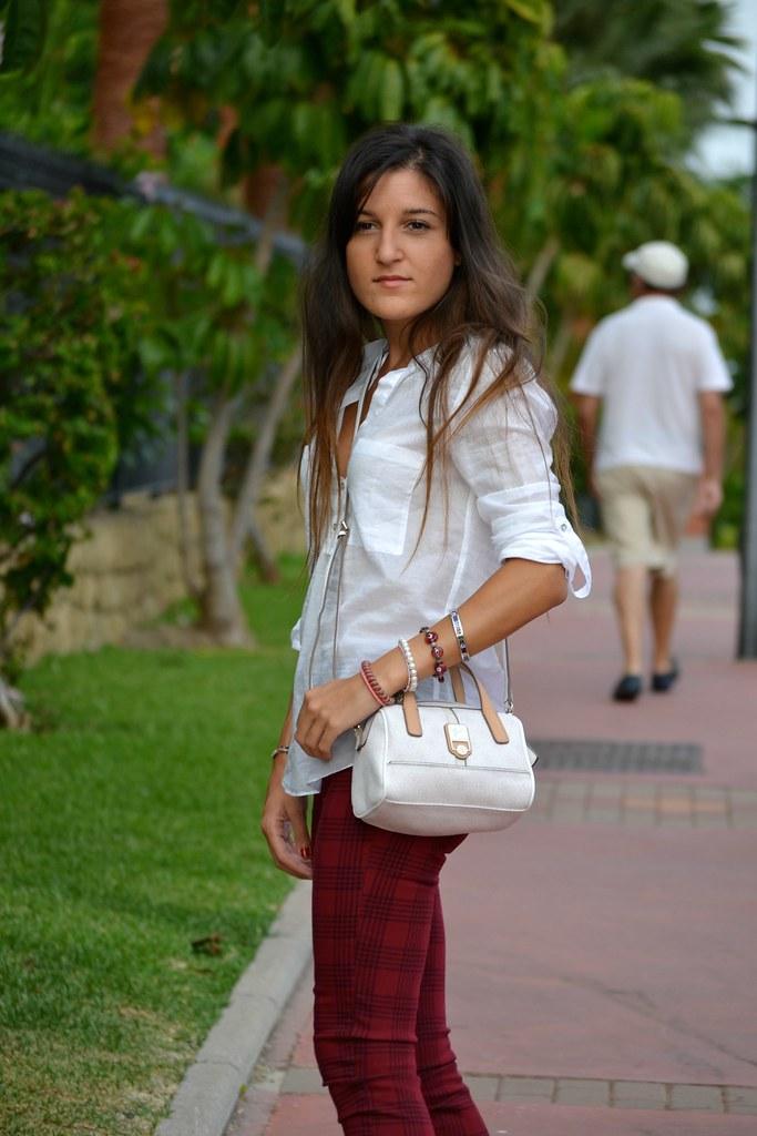 tartan style pants 8