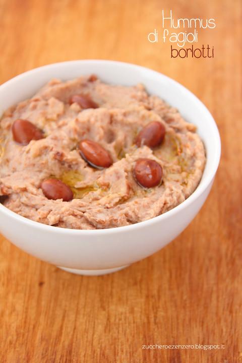 Hummus di fagioli borlotti