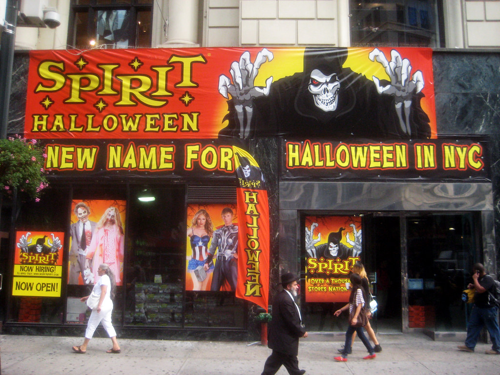 You can find more special offers on the Spirit Halloween Facebook page. To find other promotional offers, discounts and coupon codes for your Spirit Halloween order, you can check the online deals at starke.ga You can learn more about Spirit Halloween on Wikipedia and Wikidata%().