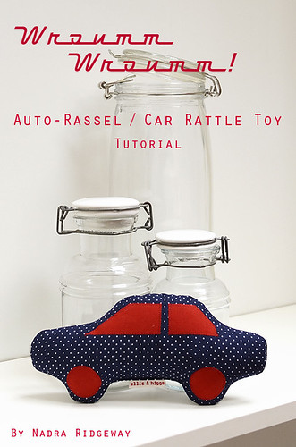 Auto-Rassel / Car Rattle Toy Tutorial