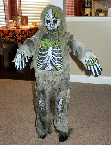Boy's Costumes: Skeleton Zombie Costume for Kids Review