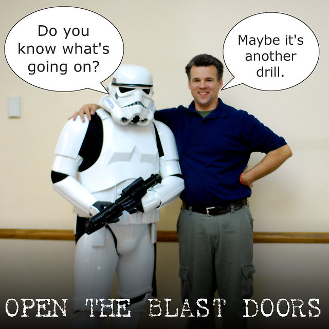 Open The Blast Doors