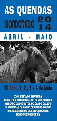 Mondoñedo 2014 - As Quendas - cartel