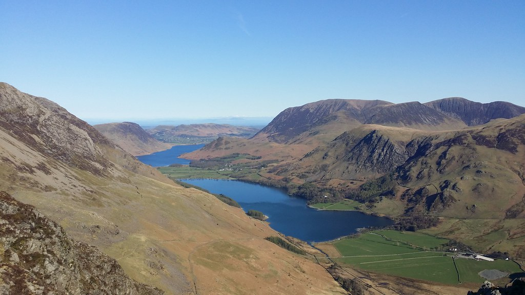 Buttermere from Haystacks #sh