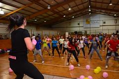 Maratón de baile entretenido a beneficio
