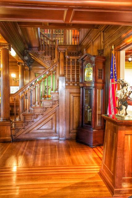 Ogdensburg  New York  ~ Remington Art Museum  ~ Interior ~  Historical Mansion