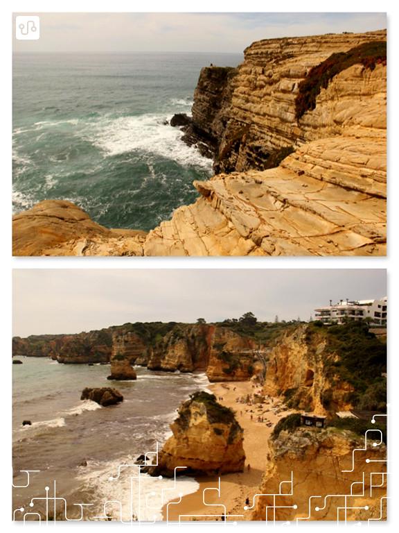 Portugal, em algum lugar do litoral entre Lisboa e Lagos e Praia da Dona Maria