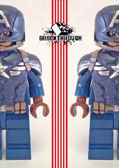 Captain America : Speak english !!