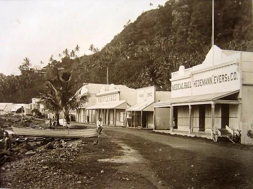 1890年代的Levuka。圖片來源:斐濟國民信託。