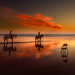 Chair and riders by Mariano Belmar Torrecilla