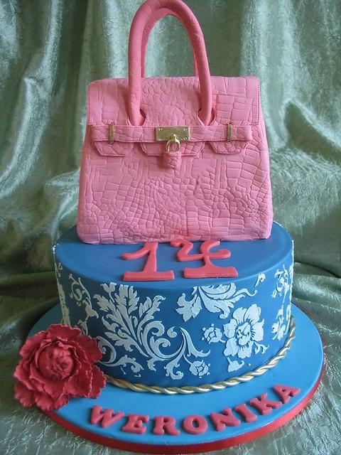 Fashion Cake by Torty artystyczne w stylu angielskim - Cake decorating