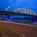Het foute blauwe uur   Wrong Blue Hour John Frostbridge @Arnhem by nldazuu.com