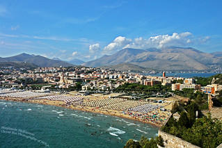 The Coast Along the Bay of Gaeta, Italy