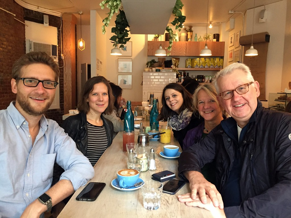 Family coffee at Bluestone Lane