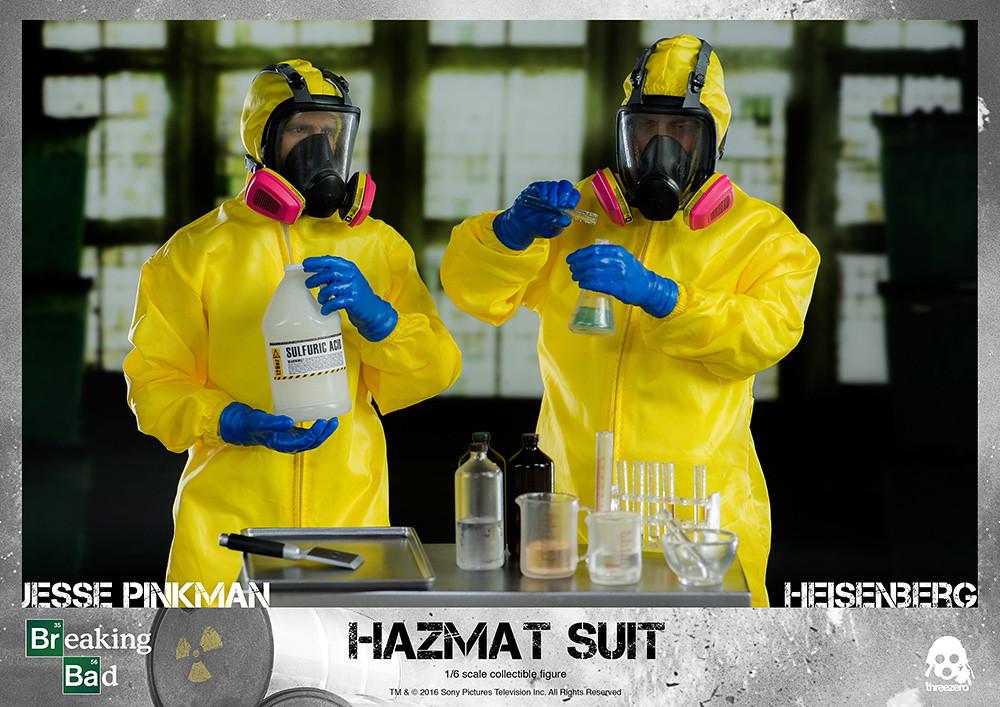 threeZero - 《絕命毒師》1/6 比例 海森堡 & 傑西 防化服套裝組 Breaking Bad Heisenberg & Jesse Hazmat Suit Combo