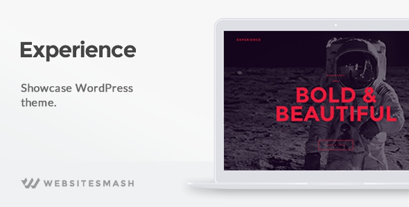 Experience v1.1.6 – Showcase WordPress Theme