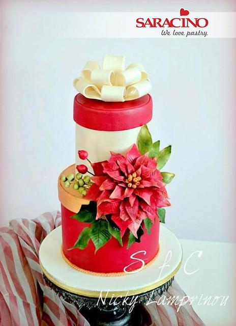 Cake by Sugar flowers creations - Nicky Lamprinou