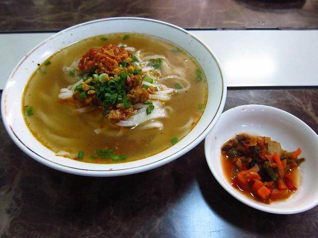 Shan Noodle Soup at 999 Shan Noodle, Yangon
