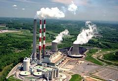 IEA指出全球擺脫傳統火力發電的速度太慢。圖為美國的火力發電廠 ,Allegheny公司提供。