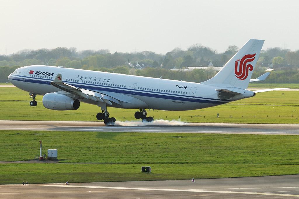 B-6536 - A332 - Air China