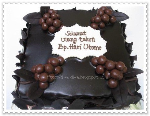 Chocolate Forever by DiFa Cakes