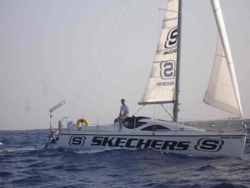Michael Perham, record guinness mundial como la persona más joven en cruzar el Atlántico en solitario