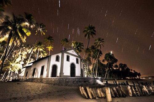 Church at Praia dos Carneiros / Light painted