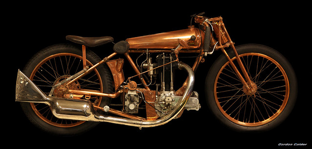 1929 500cc Chater Lea Brooklands Special, nick name:- Copperknob