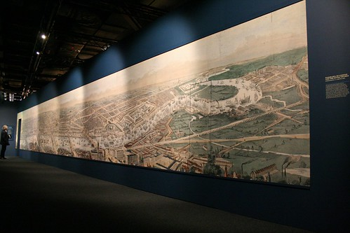 Panorama of London in 1845