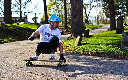 Beginner Longboarder