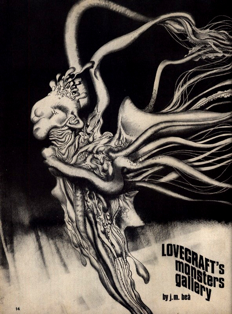 Josep M. Beá - Lovecraft Monster Gallery - 10