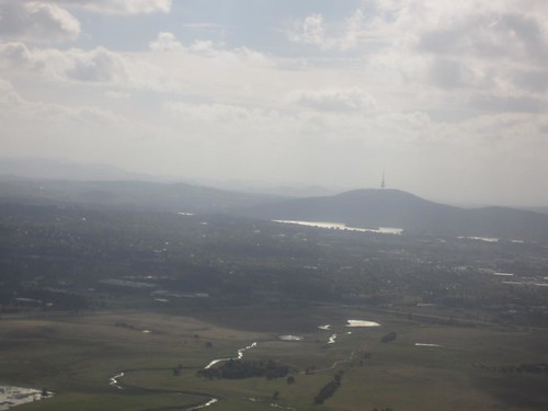 Descending into Canberra