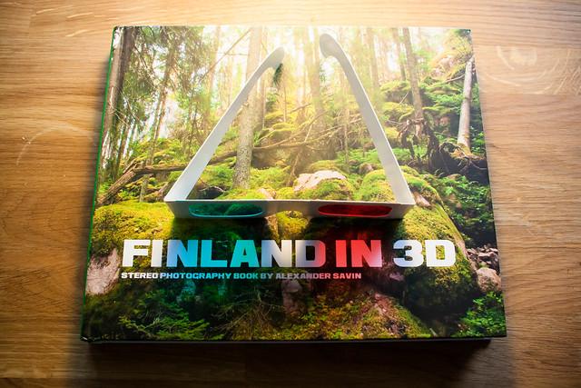 Finland in 3D photobook