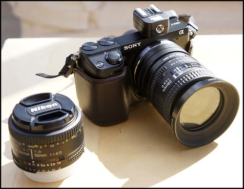 Sony NEX-7 Nikon 28mm f/2.8D 50mm f/1.8D
