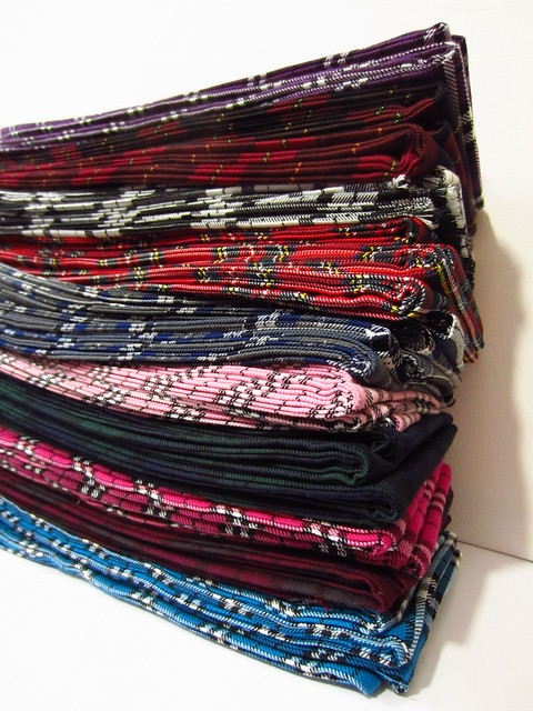 fifty tartan sashes