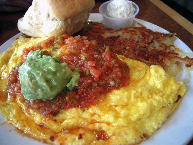 Beef Chorizo Omelette