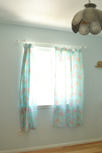 Blue Room Window Curtains