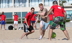 rugby union(0.0), rugby football(0.0), beach handball(0.0), tournament(0.0), sports(1.0), competition event(1.0), team sport(1.0), football(1.0), ball game(1.0),