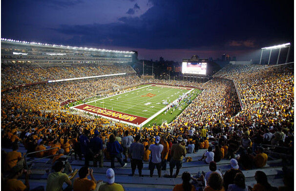 TCF Bank Minnesota Gophers football stadium