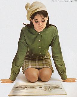 Seventeen magazine August 1966