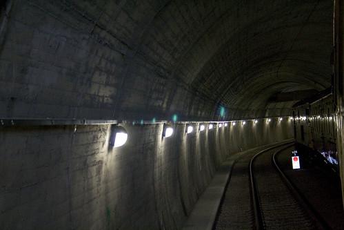 Freight tunnel under Northfleet