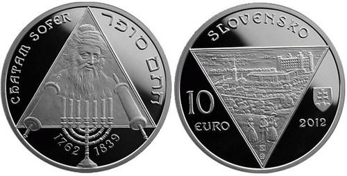 SLovakia Chatam Sofer coin